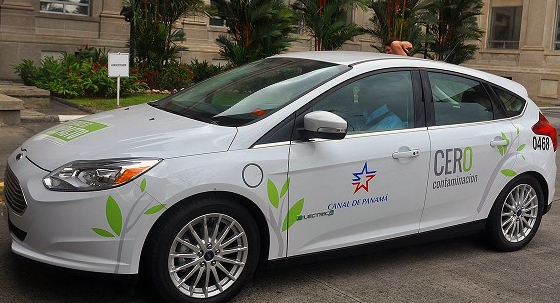 All-Electric Car for Panama Canal